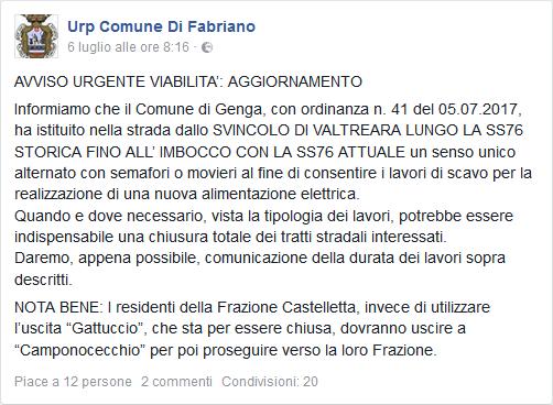 URP Comune di Fabriano