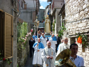 Castellitti in processione